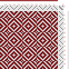 Hand Weaving Draft: N. 6-2, Weber Kunst und Bild Buch, Marx Ziegler, 4S, 4T - Handweaving.net Hand Weaving and Draft Archive