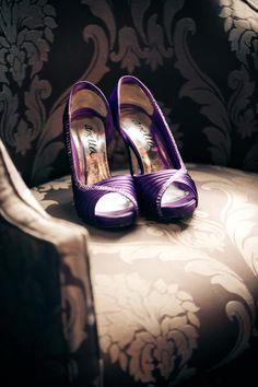 Marlene style #AnellaShoes dyed purple