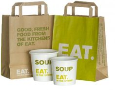 Eat Restaurant Packaging Design