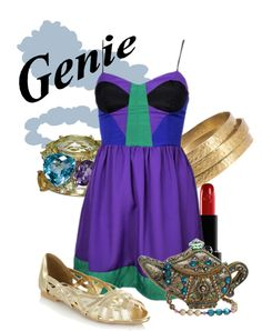 """""""Genie"""" by agust20 on Polyvore"""