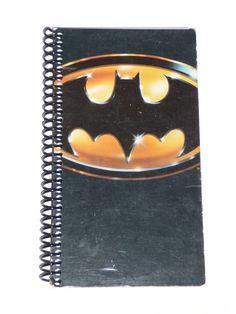 Batman - VHS Movie notebook