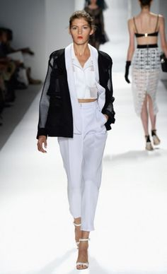 Mercedes-Benz Fashion Week : Spring 2014 MILLY BY MICHELLE SMITH