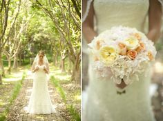Rustic Peach and Navy Pennsylvania Wedding