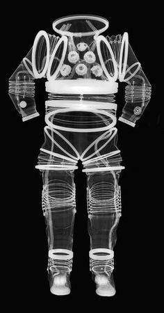 A series of X-ray images, currently on view at the National Air and Space Museum as part of the Suited for Space exhibition, give a behind-the-scenes glimpse at Astronaut Suit, Science Fiction, Space Fashion, Neil Armstrong, Air And Space Museum, Space And Astronomy, Space Travel, Space Exploration, Outer Space