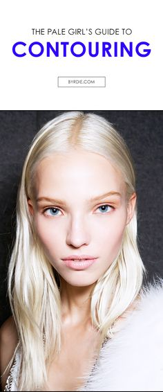 4 contouring tips every pale girl should know + the best pale-girl contouring products to shop now. (via @byrdiebeauty) // #makeup