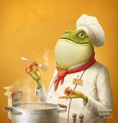Character Illustrations by Aleksey Baydakov