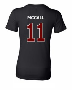Teen Wolf T-shirt - McCall 11 - Double Sided Design