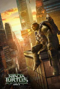 Watch Teenage Mutant Ninja Turtles: Out of the Shadows (2016) Movie Online Free
