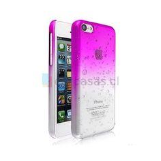 Aqua Cristal Morada iPhone 5c - Carcasas.cl