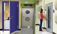 Akustik Yalıtımlı Kapı
