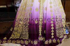 Pakistani, Kimono Top, Pure Products, Embroidery, Bridal, Elegant, Detail, Fabric, Handmade
