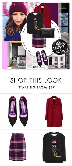"""""""Let's begin"""" by nastya-d ❤ liked on Polyvore featuring Levi's and Fendi"""