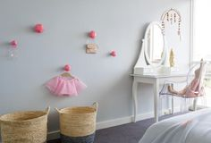 Origami style knobs make for great decoration and useful places to hang tutus! | Minty Magazine - Issue 4