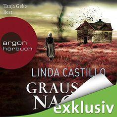 """Ein weiteres Hörbuch-Muss in meiner #AudibleApp: """"Grausame Nacht"""" von Linda Castillo, gesprochen von Tanja Geke."""