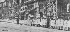 Selanik 1911 Sultan Reşat'ın ziyareti.