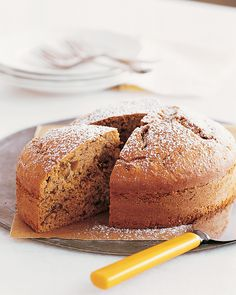 Banana-Pecan Cake