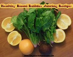 Healthy Blood Builde     Healthy Blood Builder Juicing Recipe! Spinach and Beet juice both contain properties that are beneficial for our blood. Orange juice tastes delicious and contains vitamins that assist with the absorption of other nutrients. Yummy!  https://www.pinterest.com/pin/17310779794306923/  Also check out: http://kombuchaguru.com