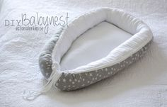 Want a safe place to lay your baby on the bed or floor while you work? Try out this great DIY babynest that is simple enough for all sewing levels.  NOTE:   CAT or Small DOG bed:  just change the material to a cat or dog print and makes a perfect bed for your loved pet.