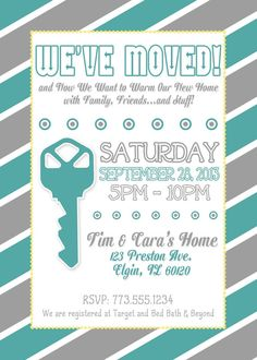 15 Best Housewarming Invitations Images In 2017
