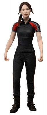 Brinquedo Neca The Hunger Games Movie Katniss in Training Day Outfit 7 inch Action Figures #Brinquedo #Neca