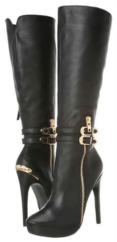Cute boots...too high heel for me, but cute! :)