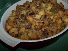 Cornbread Stuffing - Gluten Free #TDayRoundUp Entry by @EZ Gluten Free