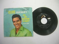 Rock & Roll 45 & Picture Sleeve - Elvis Presley - Are You Lonesome To-Night?