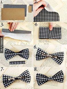 DIY Haarschleife