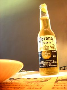 Top 8 Stereotypical Things To Do for the Fiesta: 5. Drink a deliciously chilled Corona garnished with a wedge of lime at the opening. Good luck trying to get the lime in without spraying yourself with beer! #cincodemayo