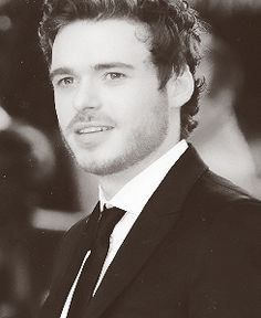"""Richard Madden. Especially when he is in character as Robb Stark on """"Game of Thrones"""". Damn."""