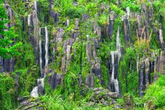 Hand made waterfall III - Hand made waterfall in a german parkland.