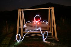 more light painting photography