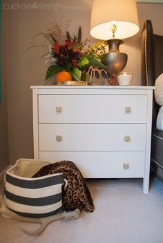Cuckoo 4 Design I IKEA koppang dressers as nightstands, replace drawer knobs
