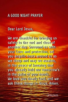 128 best bedtime prayer images in 2019 Prayer Scriptures, Faith Prayer, God Prayer, Power Of Prayer, Bible Verses, Prayer Before Sleep, Nighttime Prayer, Good Night Prayer Quotes, Prayer Images