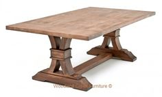 Refined Rustic Dining Table