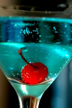 Red Aqua cocktail yes please