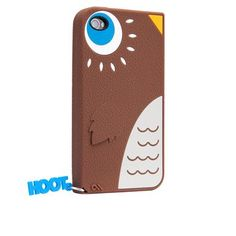 Hoot - Silicon iPhone 4 Case - LOVE!!!!  $24.99