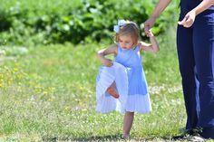 Princess Leonore, Princess Madeleine, Chris O'Neill  visits Gotland