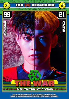 EXO's 4th Album Repackage 'THE WAR: The Power of Music' will be released on Sept 5th, 6PM (KST)!