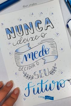 Motivational Phrases, Lettering Tutorial, Instagram Blog, Brush Lettering, Lettering Ideas, Thoughts And Feelings, Study Motivation, Journal Pages, Bible Journal