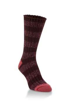 Sassafras Stripe. Fashionable styling meets supreme softness with our World's Softest Ragg sock. Created as a one-of-a-kind work of art, the Gallery Crew incorporates color and texture to create the look of a hand-knit sock, while maintaining the World's Softest® feel. These are the socks you've been looking for your entire life.    World's Softest Sock by World's Softest. Accessories - Socks Wisconsin