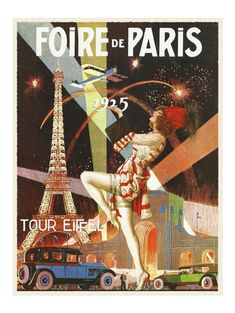 French Night Life Stories Vintage Pinup Art Poster
