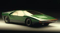 Classic Concepts: 1968 Alfa Romeo Carabo   Classic Driver Magazine