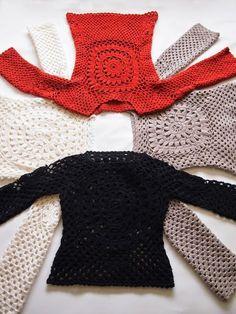 Crochet Sweater General Shapin
