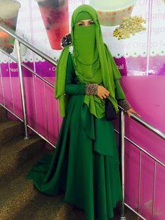 Elegant Niqab Style                                                                                                                                                                                 More