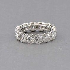 Capri Jewelers Arizona ~ www.caprijewelersaz.com Forevermark The Center of My Universe Halo Band