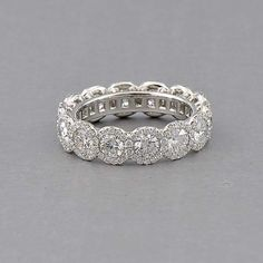 Capri Jewelers Arizona ~ www.caprijewelersaz.com Forevermark The Center of My Universe Halo Band