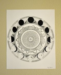moon phase compass - Google Search