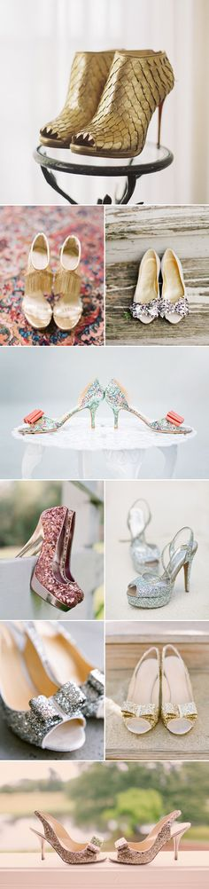 19 Stunning Sparkly Bridal Shoes You Will Love