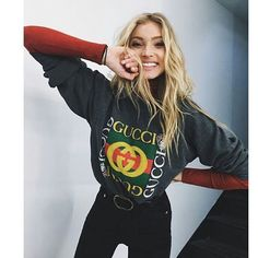 """Mi piace"": 47, commenti: 1 - Elsa Hosk Daily (@hoskelsadaily) su Instagram: ""She is so cute help #ElsaHosk"""